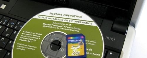 Instalando XP desde una tarjeta SD